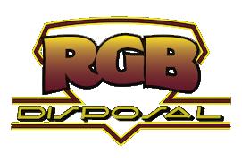 GARBAGE COLLECTION & WASTE DISPOSAL   RGB DISPOSAL NJ Logo